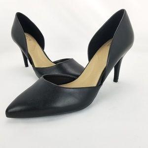 Apt. 9 Caspian Black Womens High Heel Pointed Toe